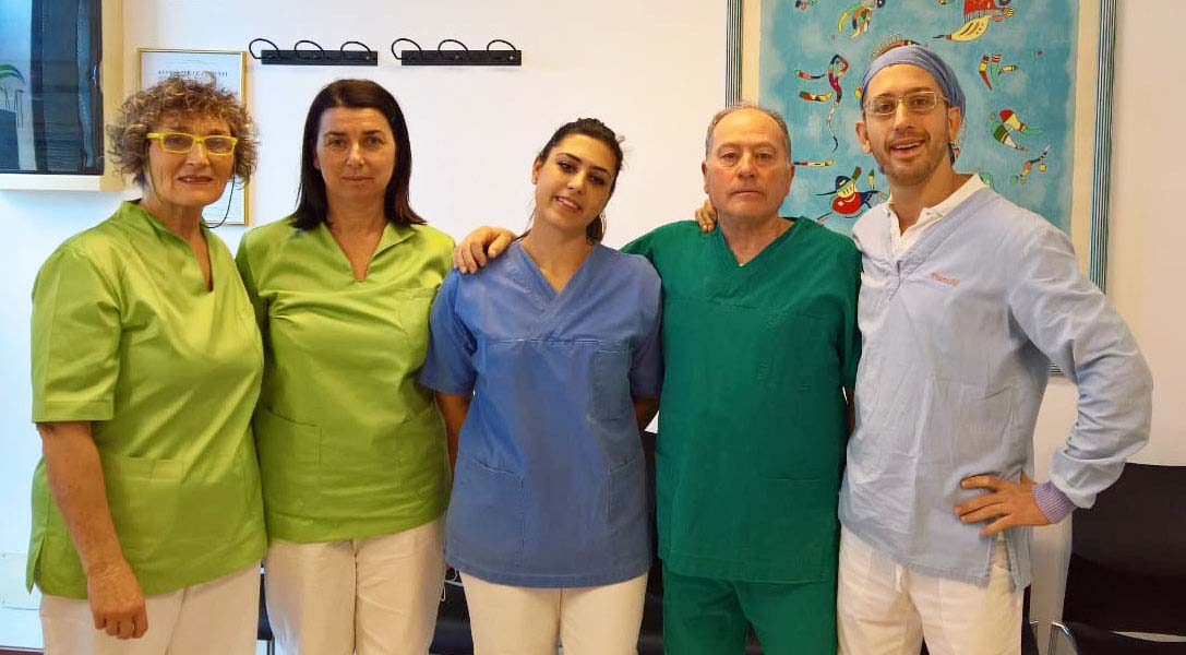 Lo staff del centro medici toscani